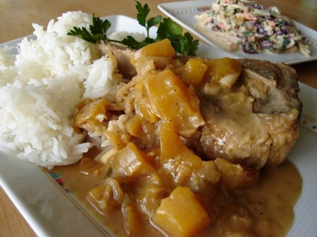 Pork_with_mango_2