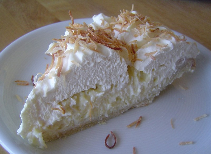Triple Cream: triple coconut cream pie